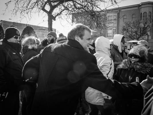 Helfich sworn in as Mayor
