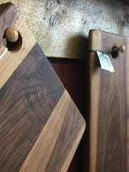 """Waste Not"" cutting boards, fashioned from rescued"