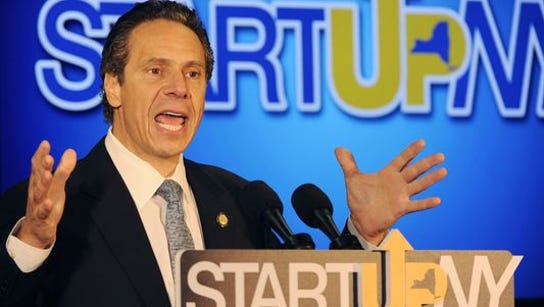 Gov. Andrew Cuomo speaks about Startup-NY in Buffalo