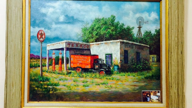 A beautiful addition has been brought to the Deming-Luna-Mimbres Museum, thanks to the generosity of a well-known local artist. Depicted in art is one of Deming's lost pieces of history. A long ago Texaco filling station that once stood along New Mexico Highway 418 (Old Lordsburg Highway) is wonderfully brought back to life as it once was. The painting is by Carol Kipp, and is on display, along with other beautiful works of art, in the museum's art gallery. For those of you who are artists, or if you just love art, please visit the museum – you'll be glad you did.