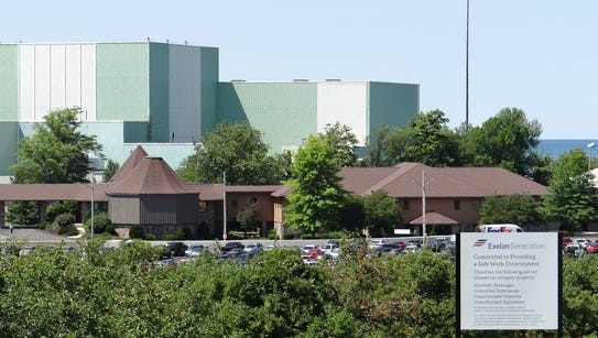 The Ginna nuclear power plant in Ontario, Wayne County.