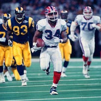 After being bypassed by every other team in the first round, Thurman Thomas went on to have a Hall of Fame career after being drafter in the second round of the 1988 draft by the Buffalo Bills.