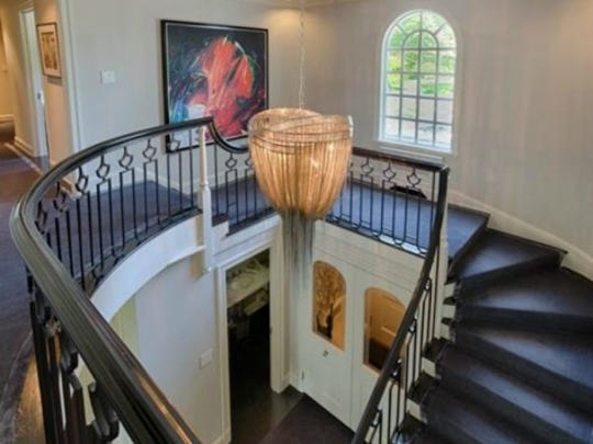 The Bedford home that  Michael Douglas and Catherine Zeta-Jones have listed for sale.