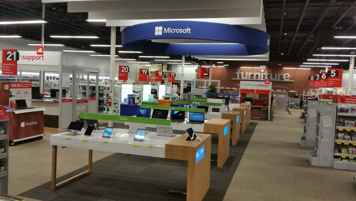 Office Depot Marks 1st Nevada Store Of Future 39 In Carson City