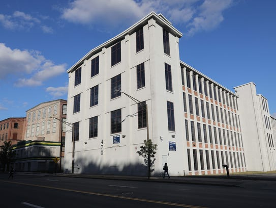 The exterior of 470 Nepperhan Avenue in Yonkers, photographed