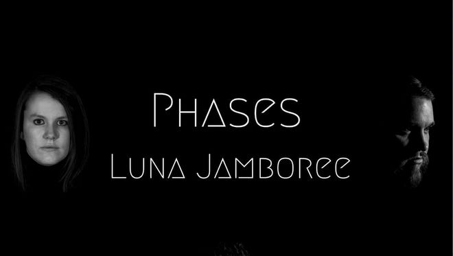 "Album art from Luna Jamboree's ""Phases"" (clockwise from top): Tyler Mathews, Tom Pearson, Bryan Copeland and Kim Painter."
