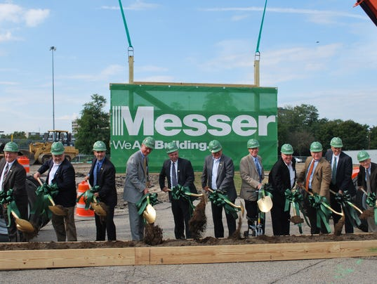 Messer Launching Construction On New West End HQ