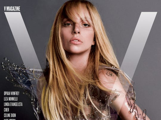 Lady Gaga on V Magazine