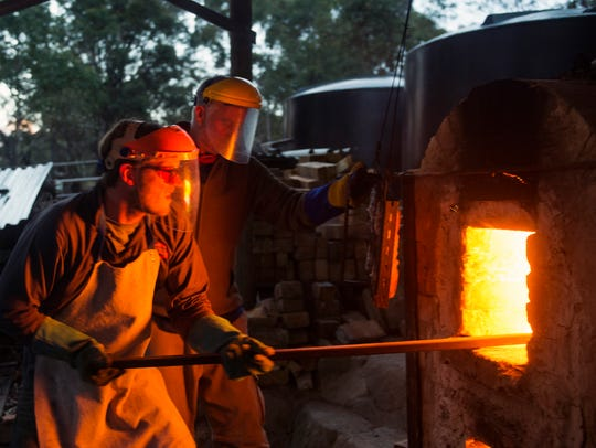 From June 1-7, more than 60 woodfire potters from around