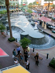 The Westgate Entertainment District in Glendale is