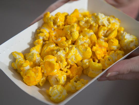 Cheddar Pretzel Ale is one of 21 flavors of popcorn