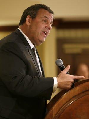 Associated PressGov. Chris Christie speaks in West Des Moines, Iowa, on Feb. 9. AP Photo/Charlie NeibergallGov. Chris Christie speaks during the Dallas County Republicans? Spring Speaker Series on Monday in West Des Moines, Iowa.New Jersey Gov. Chris Christie speaks during the Dallas County Republicans' Spring Speaker Series, Monday, Feb. 9, 2015, in West Des Moines, Iowa. (AP Photo/Charlie Neibergall)