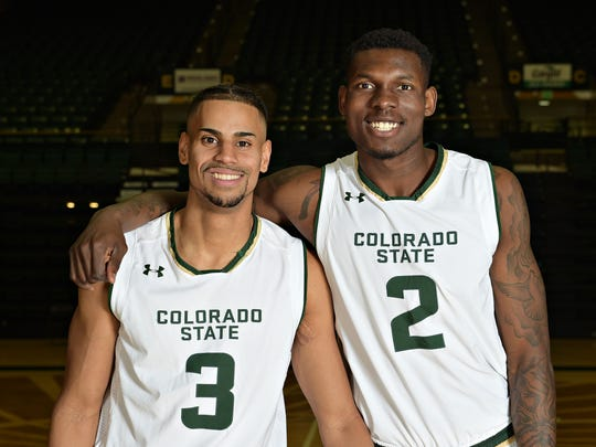 CSU basketball players Gian Clavell and Emmanuel Omogbo will play their final home games at Moby Arena on Tuesday night, when the Rams face Wyoming. Both believe the Rams have forged the kind of tight bonds normally reserved for families this season.