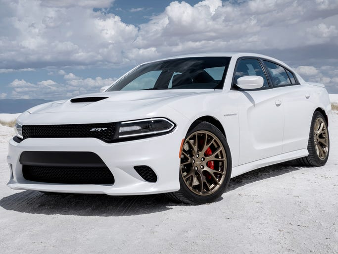 The Dodge Charger SRT Hellcat, due early next year, has a new, high-tech, 6.2-liter, supercharged Hemi V-8 that puts out 7-7 horsepower.
