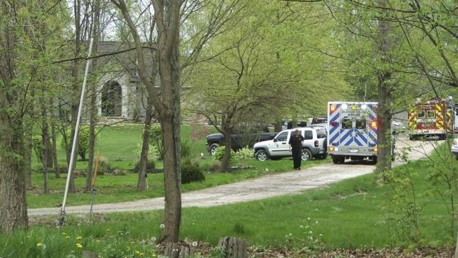 Genoa Township and Delaware County emergency crews investigate the deaths of the four members of the Reitter family in May 2019 at their Genoa Township home.