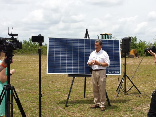 Steve Urse, chair of Sustainable Tallahassee's Renewable