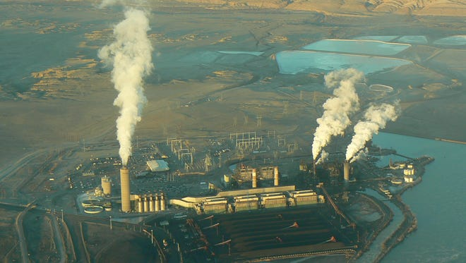 The Four Corners Power Plant in New Mexico is run by Arizona Public Service Co. for multiple owners.