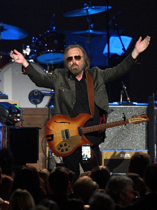 FILE: Musician Tom Petty Reportedly Rushed To Hospital 59th GRAMMY Awards - MusiCares Person of the Year Honoring Tom Petty  -  Show