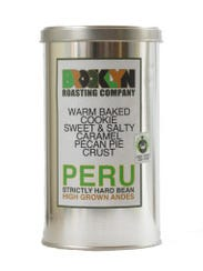 Brooklyn Roasting Company's Peruvian coffee beans have