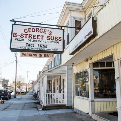 George's B-Street Subs, located at 429 Baltimore St.