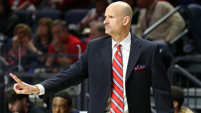 Andy Kennedy will look to lead Ole Miss to an ACC road win on Sunday.