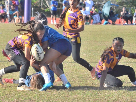 Lady Geckos' rugby team claim fifth title with 26-0 win over Royals