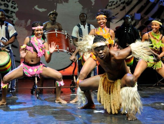 Cirque Mother Africa  brings music, dance and acrobatics