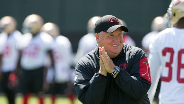 New 49ers coach Chip Kelly reached the playoffs once