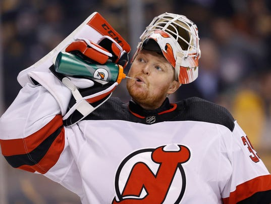 USP NHL: NEW JERSEY DEVILS AT BOSTON BRUINS S HKN BOS NJD USA MA