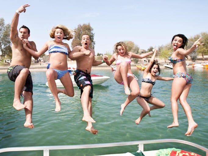 Voyeur spring break arizona lake