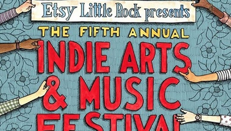 Etsy Little Rock Indie Arts and Music Festival