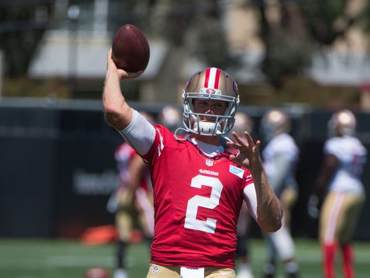8-1-14 San Francisco 49ers-Training Camp