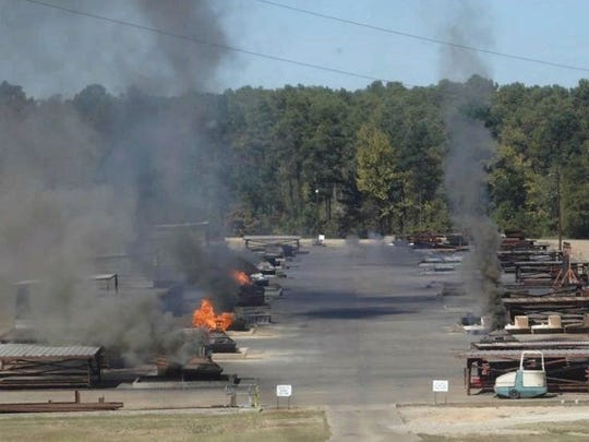 Clean Harbors Colfax conducts open burning of toxic wastes at its site near Colfax. House Bill 11 would prohibit such open burning, but the bill may be withdrawn.