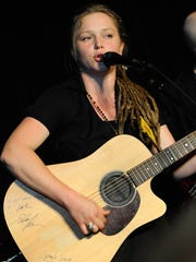 """Former """"American Idol"""" runner-up Crystal Bowersox will be in concert April 17 at the Luxemburg-Casco Performing Arts Center."""
