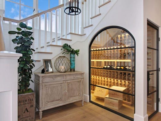 wine cellar under stairs_Houzz