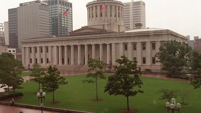The Statehouse in Columbus