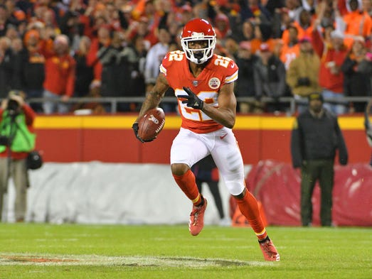 CB Marcus Peters: Traded from Chiefs to Rams