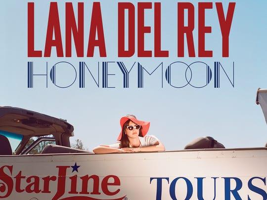 Lana Del Rey's latest album, 'Honeymoon,' is sleepy