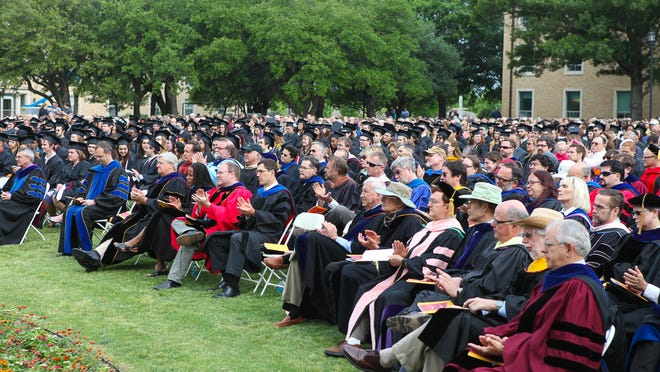 Austin College announced Wednesday that it will be delaying its 2020 commencement for a second time amid increasing cases of COVID-19 across the state.