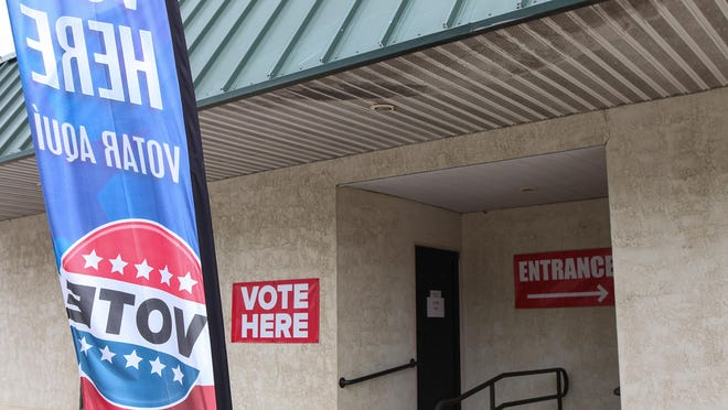 Voting for the November election starts Tuesday.