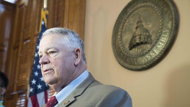 Georgia Speaker of the House David Ralston, R - Blue Ridge
