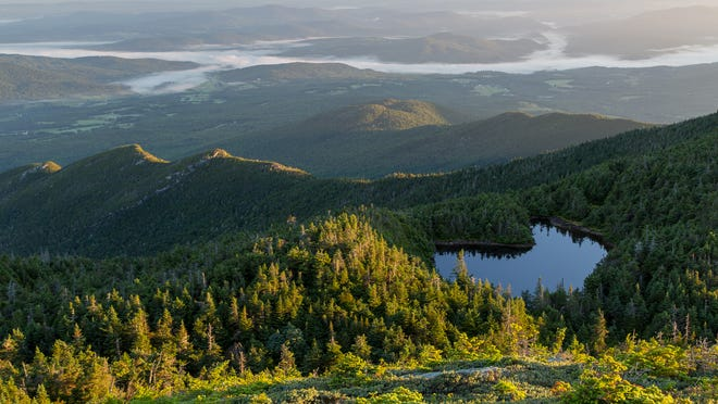 A view from Mount Mansfield