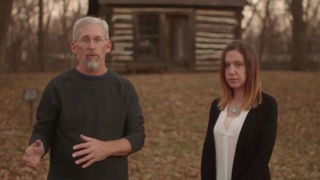 Ken Spurgeon, history consultant  and Suzanne Walenta, curator of the Kansas Oil Museum, hosted the first video in a series as part of the  Smithsonian's 'Crossroads: Change in Rural America'