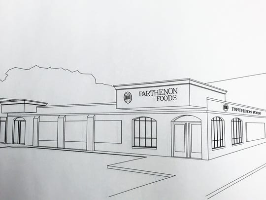 The new Parthenon Foods European Market will be twice the size of the current store.