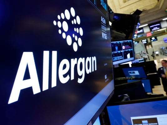 AP PFIZER-ALLERGAN F FILE A USA NY