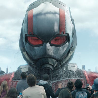 This image released by Marvel Studios shows Paul Rudd