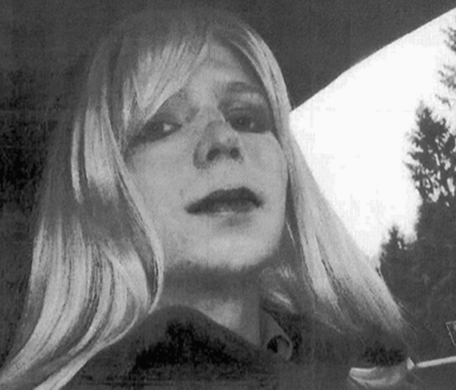 An undated file photo provided by the U.S. Army of Chelsea Manning.
