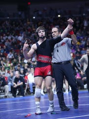 Assumption senior Julien Broderson, an Iowa State signee, is seeking a third straight state title this season in Class 2A