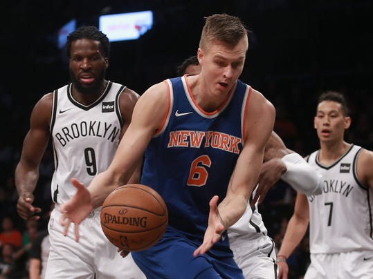 USP NBA: PRESEASON-NEW YORK KNICKS AT BROOKLYN NET S BKN BKN NYK USA NY