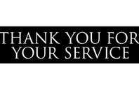 THANK YOU FOR YOUR SERVICE Screening Giveaway